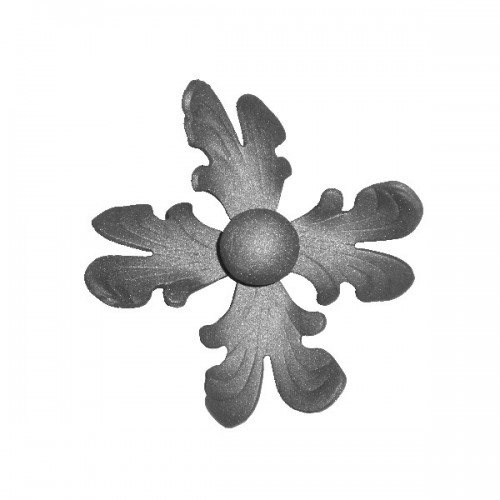 Wrought iron flower 252-01