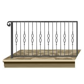 Wrought iron railing BD0003
