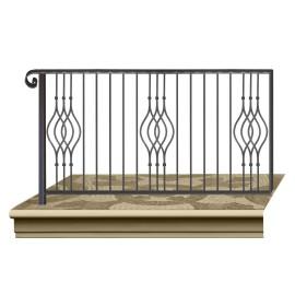 Wrought iron railing BD0005