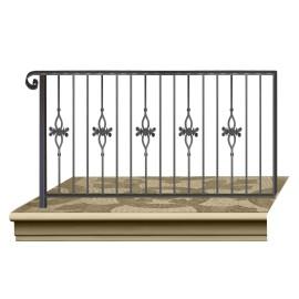 Wrought iron railing BD0006
