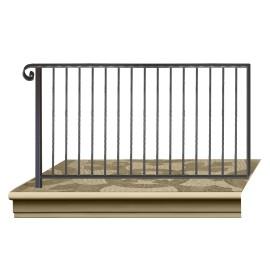 Wrought iron railing BD0009