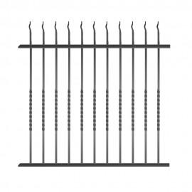 Wrought iron fence V0003