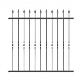 Wrought iron fence V0010
