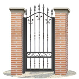 Fences doors wrought iron PV0001