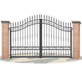 Fences doors wrought iron PV0002