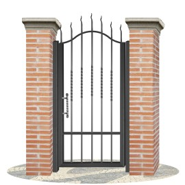 Fences doors wrought iron PV0003