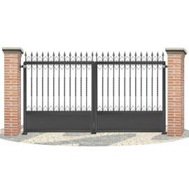 Fences doors wrought iron PV0004