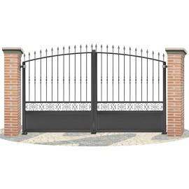 Fences doors wrought iron PV0006