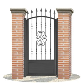 Fences doors wrought iron PV0007