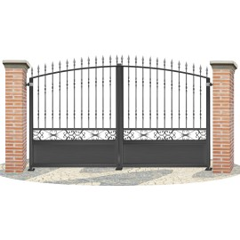 Fences doors wrought iron PV0008