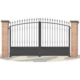 Fences doors wrought iron PV0009