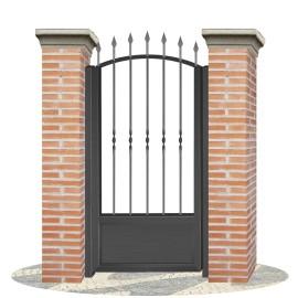 Fences doors wrought iron PV0010