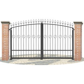 Fences doors wrought iron PV0011