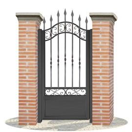 Fences doors wrought iron PV0012