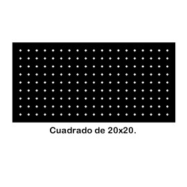 Perforated iron plate 409-03