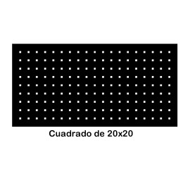 Perforated iron plate 409-06