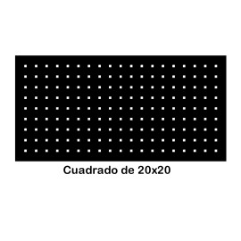 Perforated iron plate 409-09
