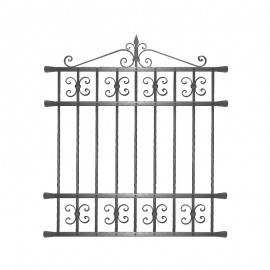 Wrought iron window grilles R0002