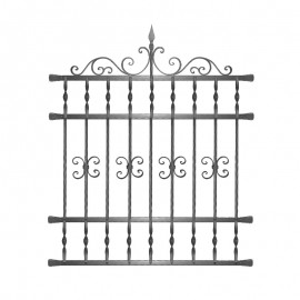 Wrought iron window grilles R0001
