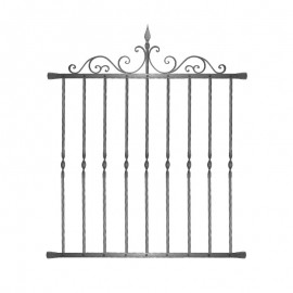 Wrought iron window grilles R0009
