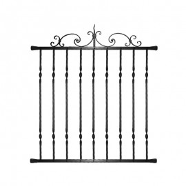 Wrought iron window grilles R0010