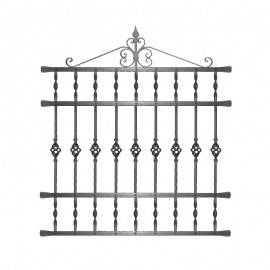 Wrought iron window grilles R0004