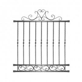 Wrought iron window grilles R0005