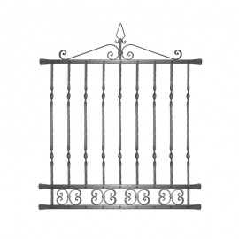 Wrought iron window grilles R0006