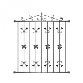 Wrought iron window grilles R0007