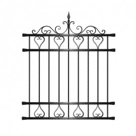 Wrought iron window grilles R0008