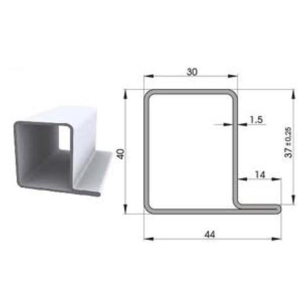 Tubo de hierro 402 04 forja rafael c b for Tubos de hierro rectangulares