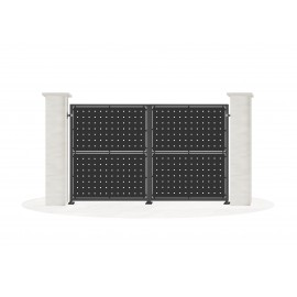 Sheet metal doors model CANDARA