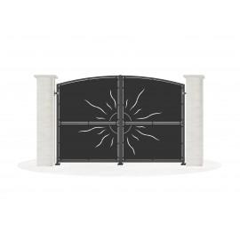 Sheet metal doors model SUVAN