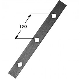 Iron gusset plate 405-02