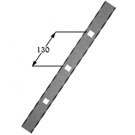 Pletina perforada 406 01 forja rafael c b - Pletinas de hierro ...