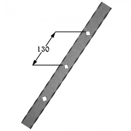 Iron gusset plate 406-02