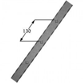 Iron gusset plate 407-01