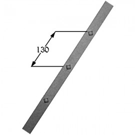 Iron gusset plate 407-02