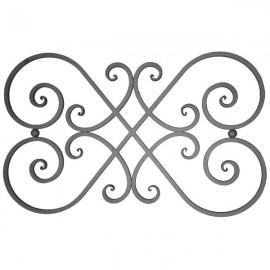 Wrought iron balustrade 550-06