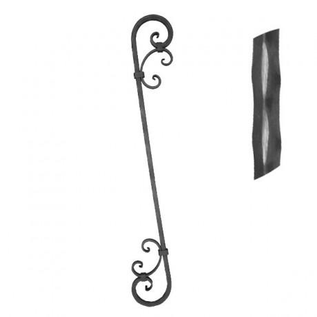 Balustrade en fer forg 550 15 forja rafael c b for Balustrade fer forge