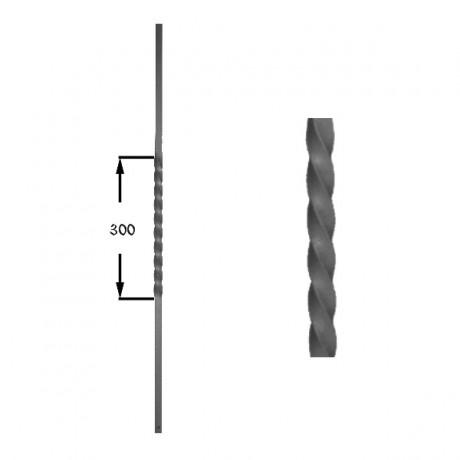 Wrought iron heavy bars 551-02