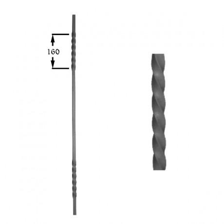 Wrought iron heavy bars 551-03