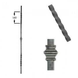 Wrought iron heavy bars 551-05