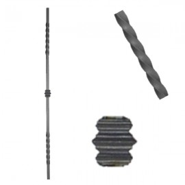 Wrought iron heavy bars 551-07