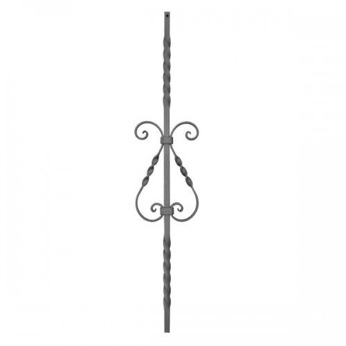Wrought iron heavy bars 551-13