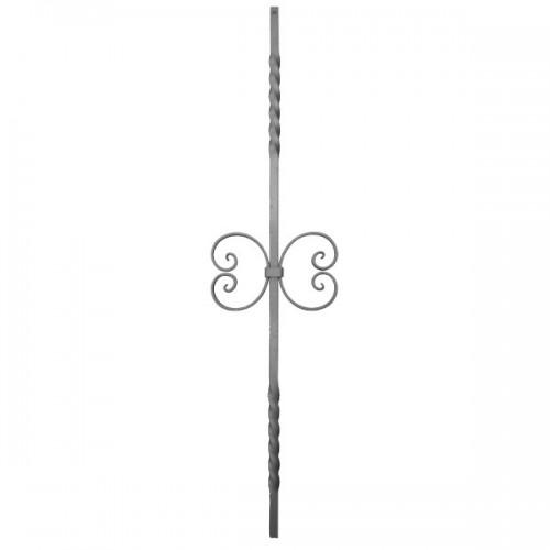 Wrought iron heavy bars 551-19