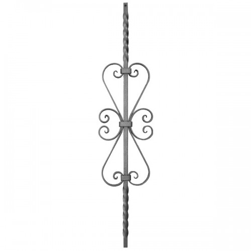 Wrought iron heavy bars 551-41