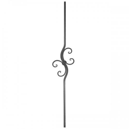Wrought iron heavy bars 551-45