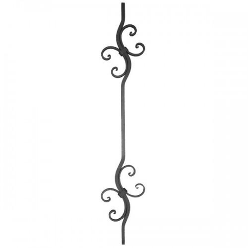 Wrought iron heavy bars 551-46