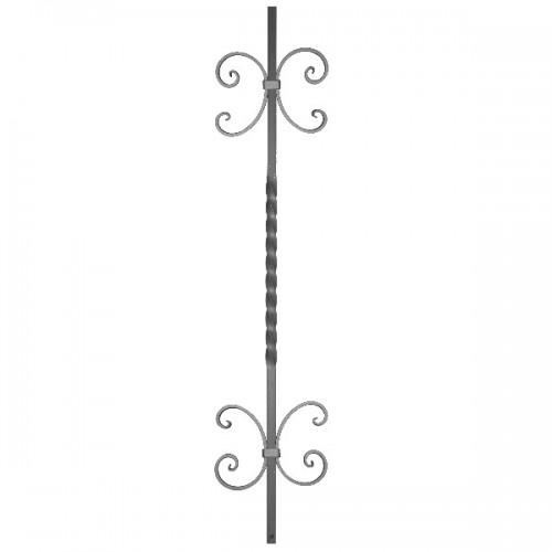 Wrought iron heavy bars 551-62